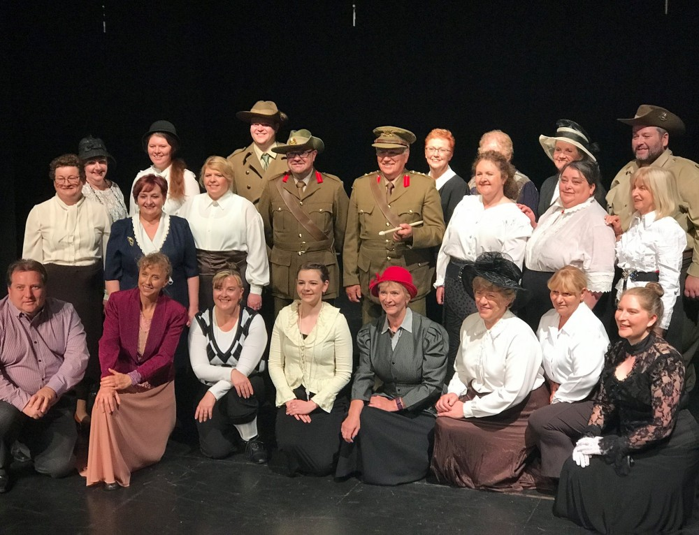 ANZAC Centenary Tribute Show Receives Community Support